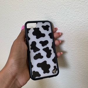 Wild flower moo moo case